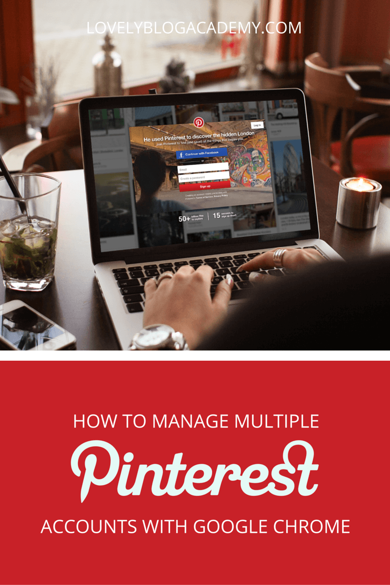 How to manage multiple Pinterest accounts