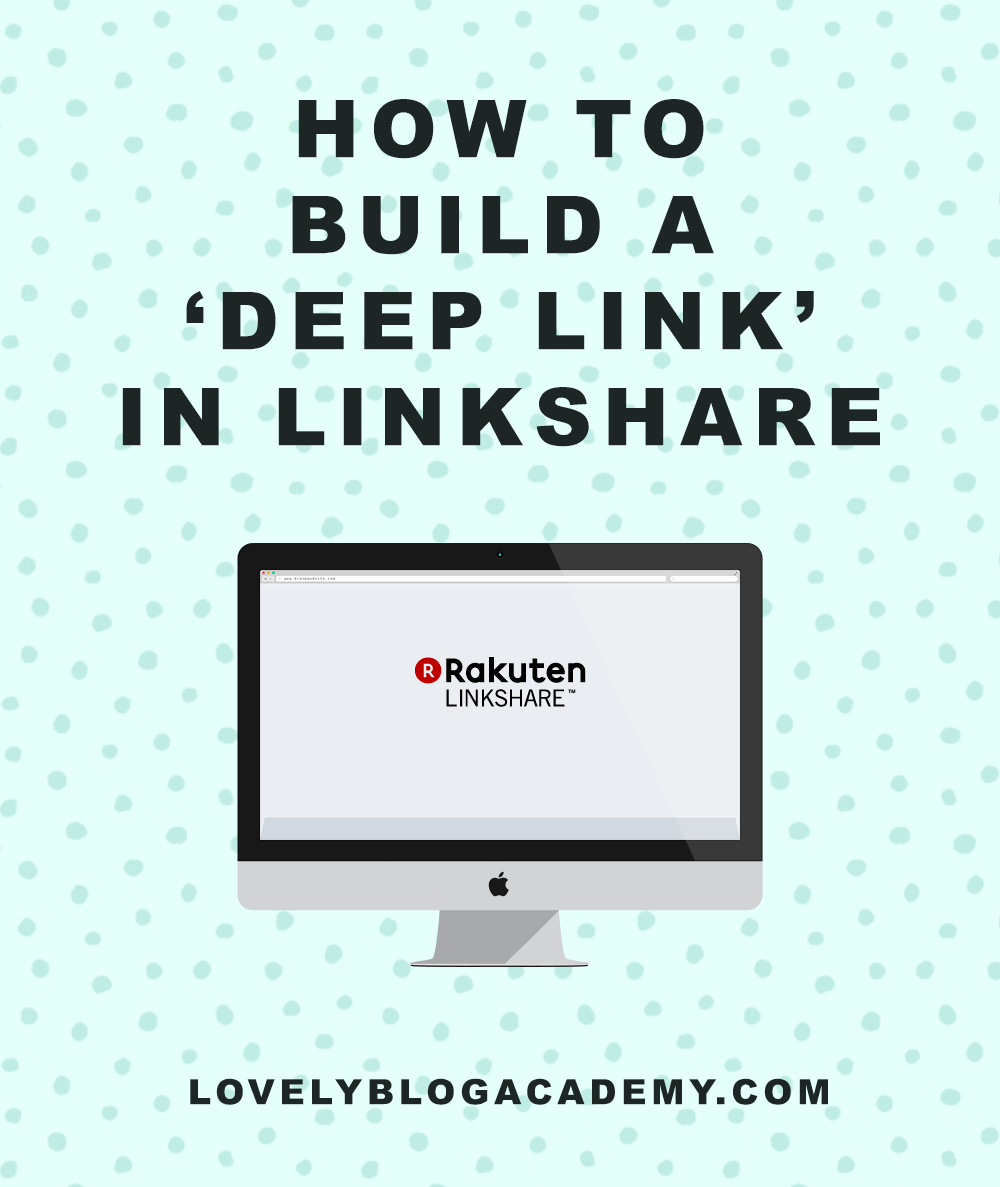 How to build a deep link in Linkshare