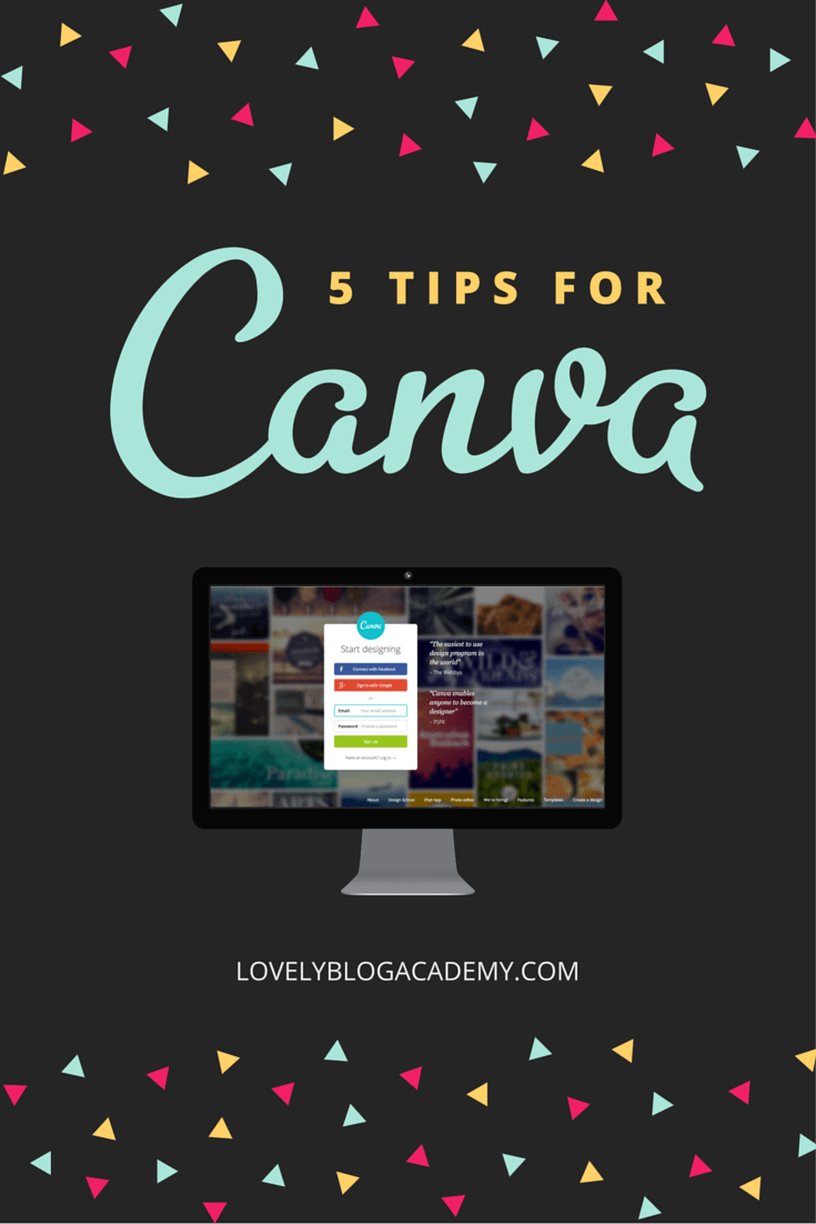 Canva tips and tricks to help you make the most out of the software