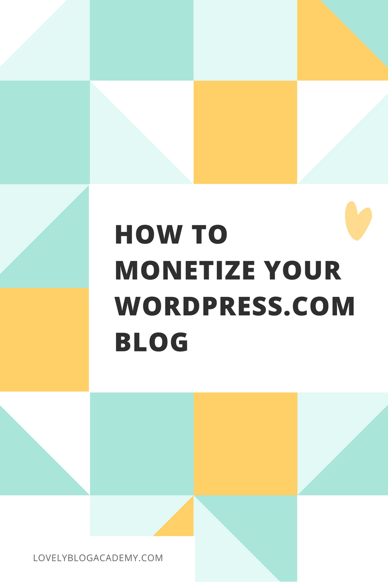 How to monetize your (free) WordPress.com blog